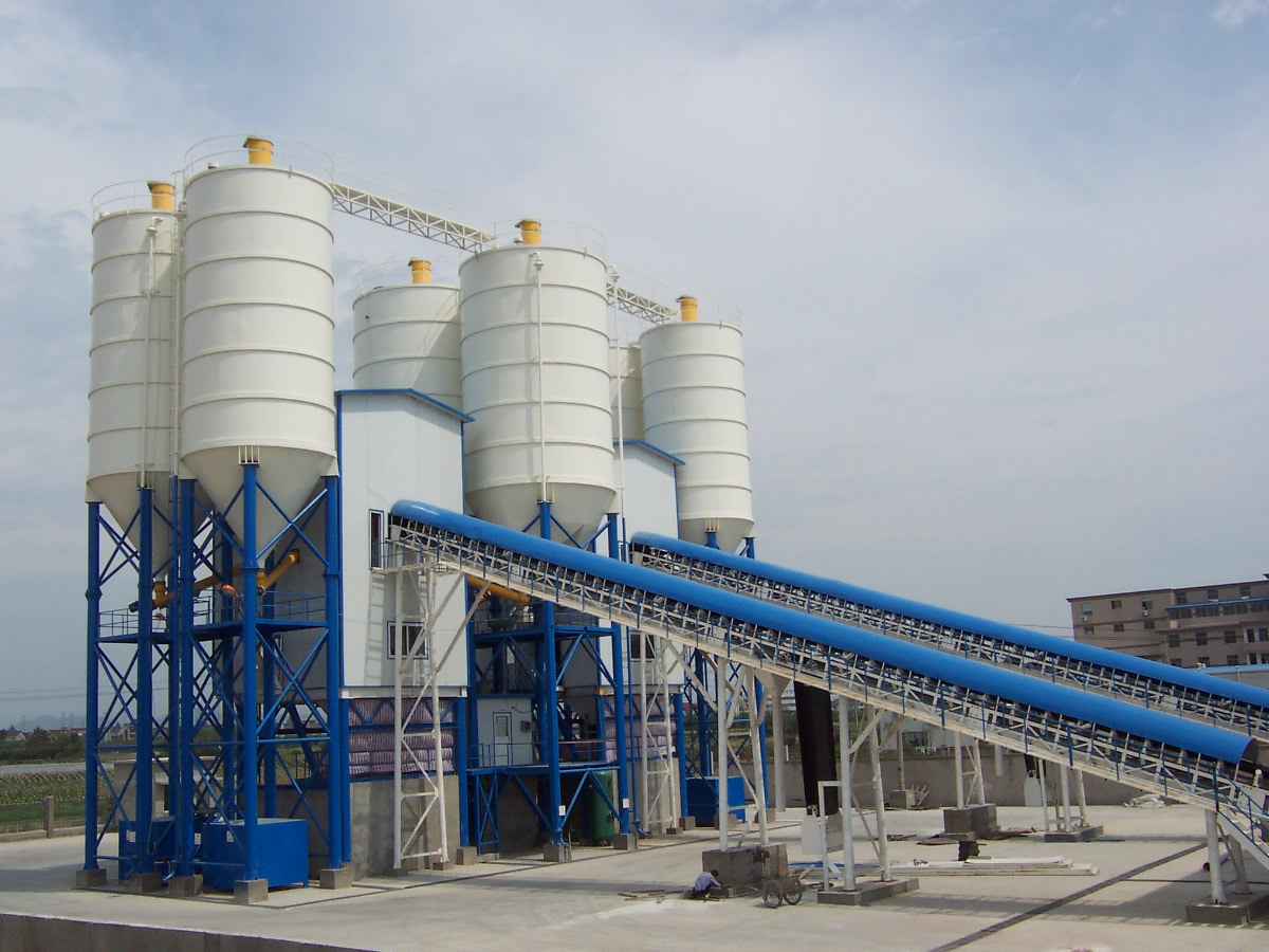 HZS60 (60m3/hr) Mixing Plant
